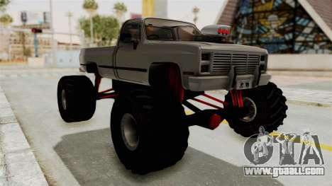 Chevrolet Silverado Classic 1985 Monster Truck for GTA San Andreas right view