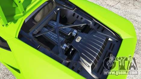 GTA 5 Lamborghini Huracan LP 610-4 2016 front right side view