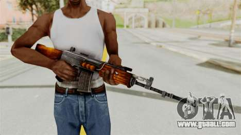 IOFB INSAS Detailed Orange Skin for GTA San Andreas third screenshot