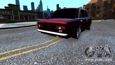 VAZ 21011 Style for GTA 4 back left view