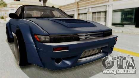 Nissan Silvia Sil80 for GTA San Andreas side view