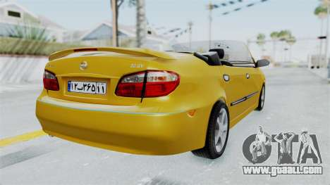 Nissan Maxima Spyder for GTA San Andreas left view