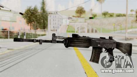 IOFB INSAS Detailed Black Skin for GTA San Andreas