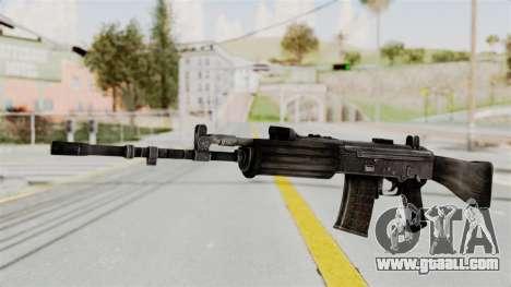 IOFB INSAS Detailed Black Skin for GTA San Andreas