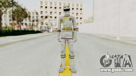 Power Rangers Wild Force - White for GTA San Andreas second screenshot