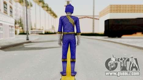 Power Rangers Wild Force - Blue for GTA San Andreas third screenshot
