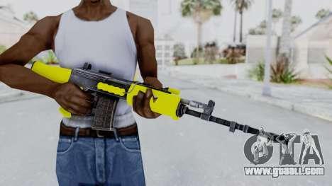 IOFB INSAS Yellow for GTA San Andreas third screenshot