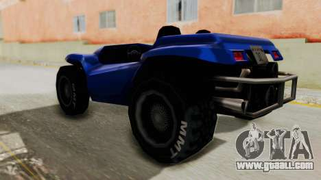 BF Buggy for GTA San Andreas left view
