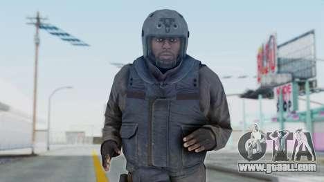 MGSV Phantom Pain Zero Risk Vest v1 for GTA San Andreas