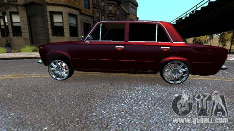 VAZ 21011 Style for GTA 4 left view