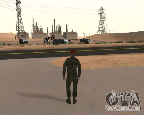 Pak Russian Military for GTA San Andreas seventh screenshot