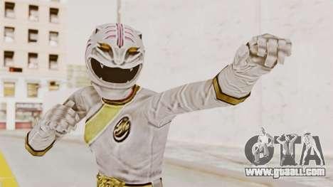 Power Rangers Wild Force - White for GTA San Andreas
