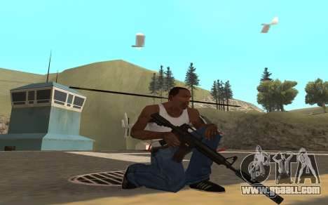 Redline weapon pack for GTA San Andreas second screenshot