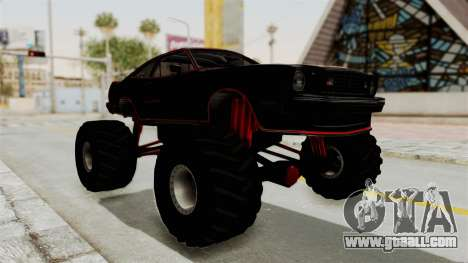 Ford Mustang King Cobra 1978 Monster Truck for GTA San Andreas right view