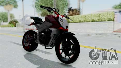 Pulsar 200NS Stunt for GTA San Andreas right view