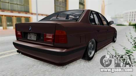 BMW 525i E34 1994 SA Plate for GTA San Andreas right view