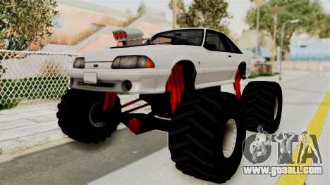 Ford Mustang 1991 Monster Truck for GTA San Andreas