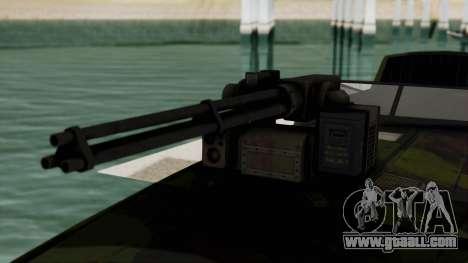 Triton Patrol Boat from Mercenaries 2 for GTA San Andreas back view