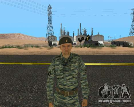 Pak Russian Military for GTA San Andreas ninth screenshot