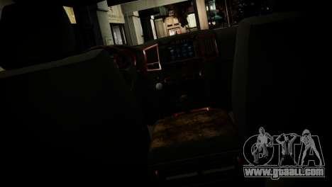 Toyota Land Crusier Prado 150 for GTA 4 interior