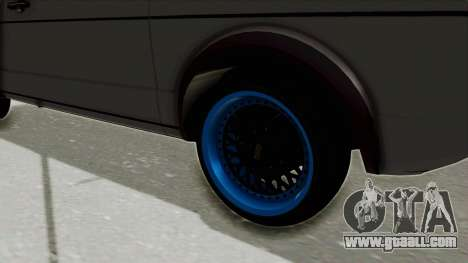 Volkswagen Golf 1 for GTA San Andreas back view