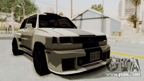 Renault Turbo-S for GTA San Andreas right view