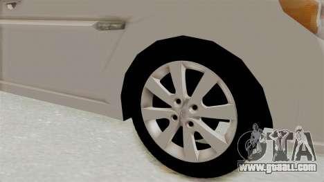 Hyundai Accent Era for GTA San Andreas back view