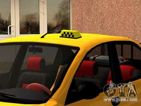 Daewoo Lanos (Sens) 2004 v2.0 by Greedy for GTA San Andreas wheels