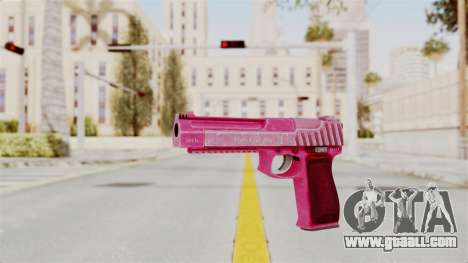 GTA 5 Pistol .50 Pink for GTA San Andreas second screenshot