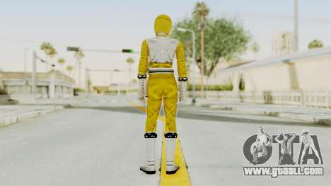 Power Rangers Lost Galaxy - Yellow for GTA San Andreas third screenshot