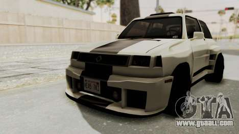 Renault Turbo-S for GTA San Andreas