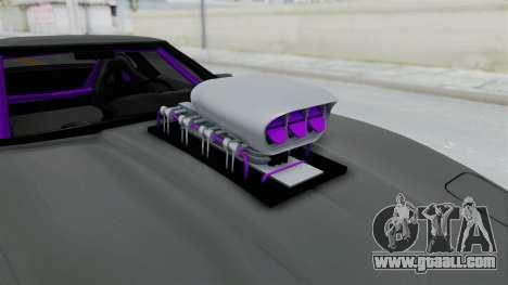 Chevrolet Corvette C4 Drag for GTA San Andreas back view