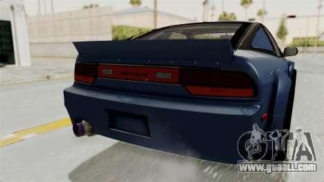 Nissan Silvia Sil80 for GTA San Andreas bottom view