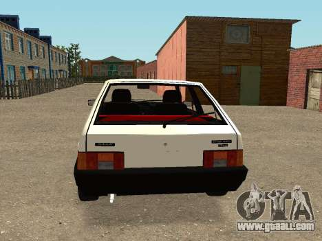 VAZ 2108 Stock by Greedy for GTA San Andreas right view
