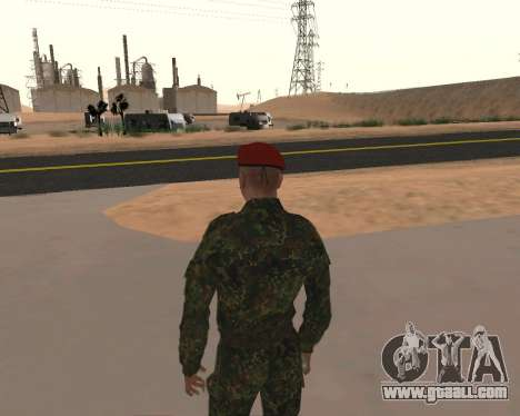 Pak Russian Military for GTA San Andreas fifth screenshot