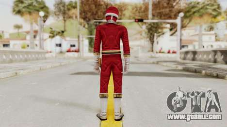 Power Rangers Lightspeed Rescue - Red for GTA San Andreas third screenshot