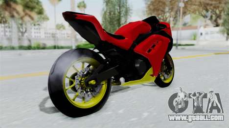 Kawasaki Ninja 250FI Anak Jalanan for GTA San Andreas left view