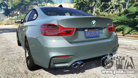 GTA 5 BMW M4 GTS rear left side view