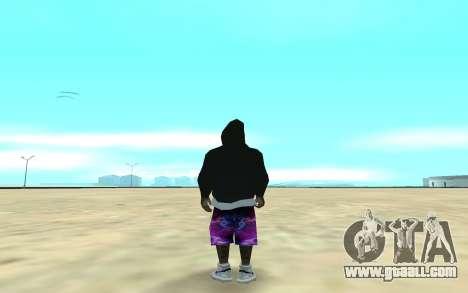 Ballas Gang Member for GTA San Andreas second screenshot