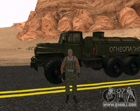 Pak Russian Military for GTA San Andreas third screenshot