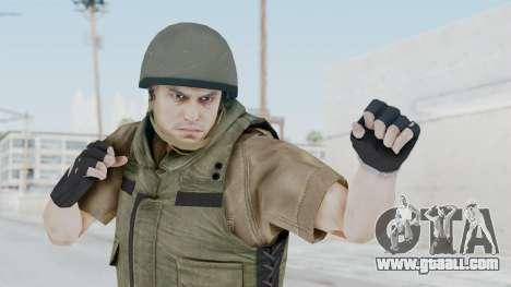 MGSV Phantom Pain CFA Vest v2 for GTA San Andreas
