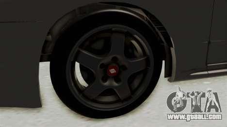 Nissan Skyline R32 4 Door for GTA San Andreas back view