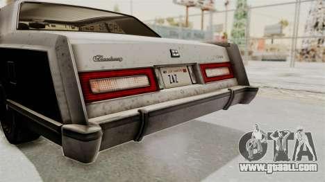 GTA 5 Dundreary Virgo IVF for GTA San Andreas side view