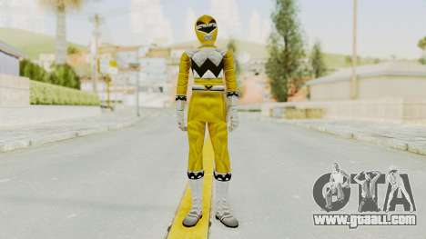 Power Rangers Lost Galaxy - Yellow for GTA San Andreas second screenshot