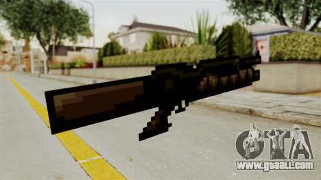 Heavy Machinegun from Metal Slug for GTA San Andreas second screenshot