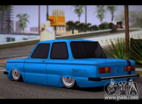 ZAZ BPAN for GTA San Andreas left view