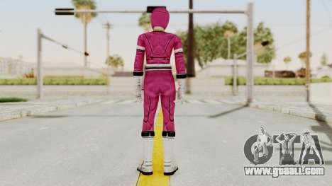 Power Rangers Turbo - Pink for GTA San Andreas third screenshot