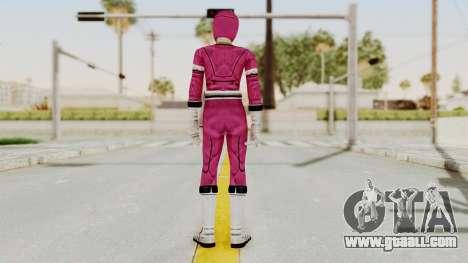 Power Rangers Turbo - Pink for GTA San Andreas third screenshot