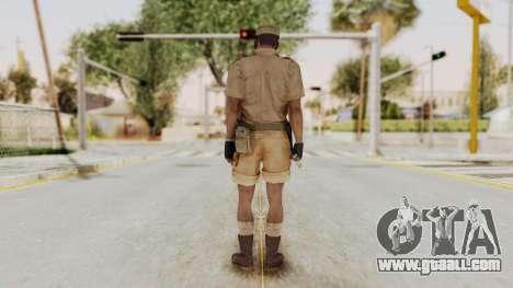 MGSV Phantom Pain CFA Soldier v1 for GTA San Andreas third screenshot