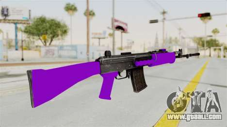 IOFB INSAS Violet for GTA San Andreas second screenshot